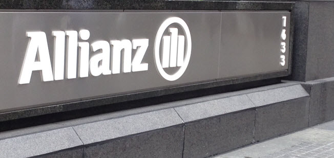 In front of Allianz Global Investors, our roundtable hosts