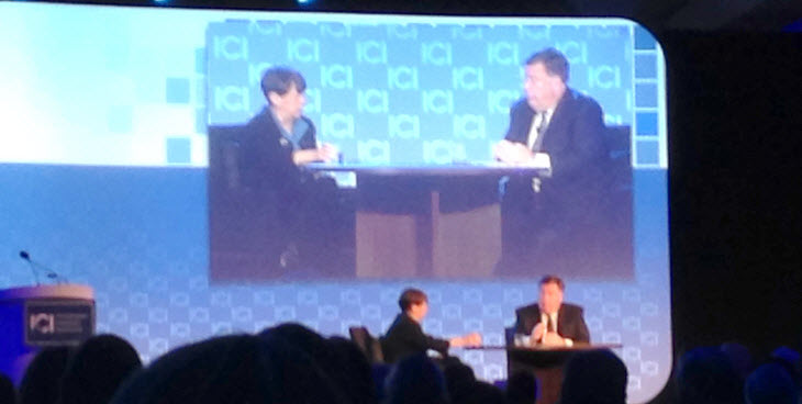 Mary Jo White at the ICI GMM