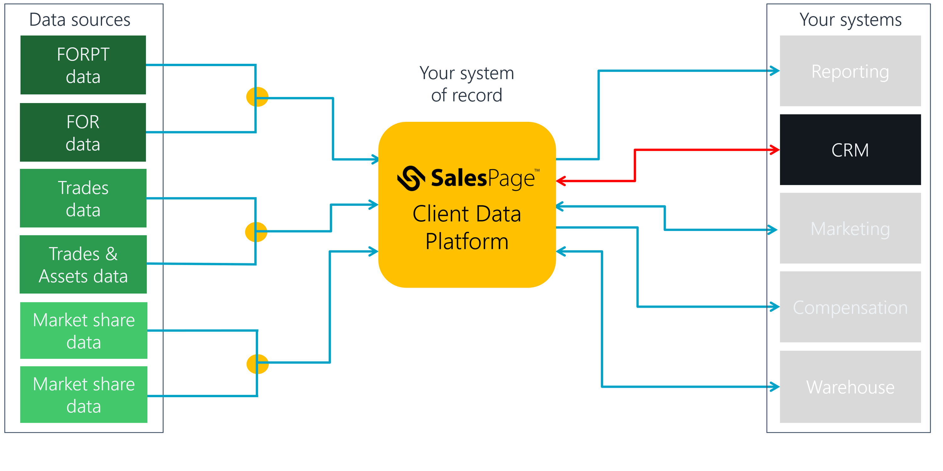 SalesPage Client Data Platform Salesforce Integration II