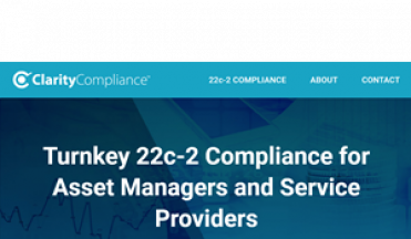 22c-2 now offered by SalesPage: Welcome Clarity Compliance!